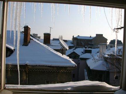 изглед от прозореца