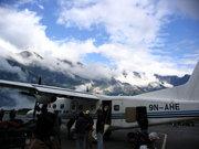 Това е самолета с който летяхме