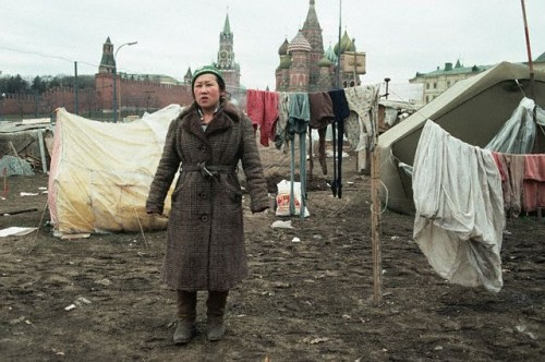 Москва, Червения площад 1990г.